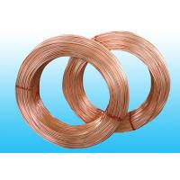 Buy cheap Welded Refrigeration Copper Tube / Bundy Pipe For Compressor 6 * 0.5 mm product