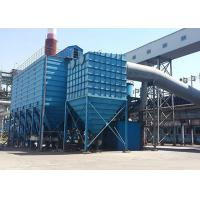 China Large Handling Capacity Impluse Type Bag Dust Collector , Industrial Pulse Jet Blowing Bag Dust Collector on sale