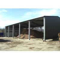 Buy cheap Multi Purpose Steel Barn Structures For Rural With Open Sided Steel Sheet Clading product