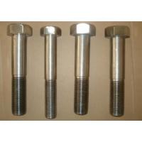Buy cheap Inconel 718 Nickel Alloy Fasteners Hex Head Bolts 1/4 - 4 ASME B18.2.1 product