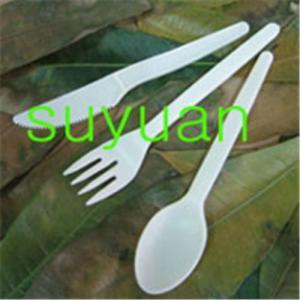 Cubiertos vajilla-abonablees biodegradables