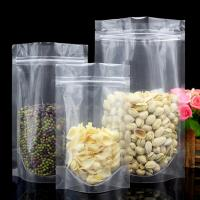 China China factory Stocking packaging bag for snack food plastic zipper pouch stand up food bag on sale