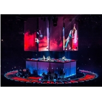 Buy cheap Front Rear Transparent Hologram Mesh Screen For Live Concert product