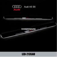 China Audi A5 S5 car door welcome light led projection Pedal Lights wholesale