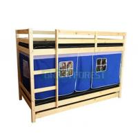 China wooden kids tent bunk bed on sale