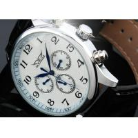 Buy cheap Vintage Large Face Mechanical Automatic Watches With 6 Hands , Swiss Wrist Watch product