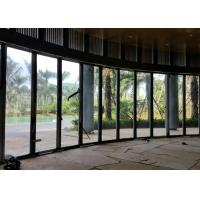 Buy cheap Movable Frameless Glass Wall , Suspended Frameless Sliding Doors 12mm Thickness product