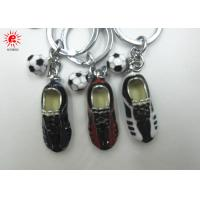 Buy cheap Shoes And Foot Ball Key Chain Holder Colored Drawing Alloy Keychains For Women product