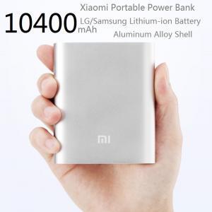 Xiaomi 10400mAh超細い力銀行ポータブルのSmartphoneのための外的な充電器
