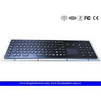 Buy cheap IP65 Rated Black Metal Keyboard With Touch Pad,Function Keys And Number Keypad product