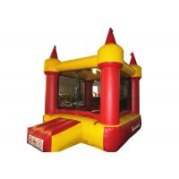 Buy cheap Red small inflatable jump castke house for kids under 7 years inflatable mini bouncer castle product