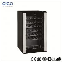 CICO-28Bottles  Compressor Wine Cooler With Black Cabinet and Black Interior