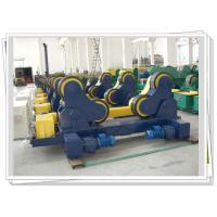 Buy cheap Pipe Self-aligned Welding Rotator For Vessels , Heavy Duty Rotator product