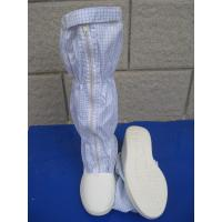 Quality Convenient ESD Anti Static Clean Room Booties Easy Clean For Electronics Factory for sale