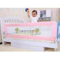 China 150cm Pink Safety Portable Bed Rails , Prevent Baby Falling Down on sale