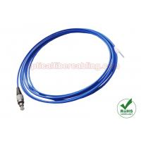 China Simplex Fiber Patch Cables Mini Armored Fiber Optic Patch Cord With FC Connector Terminated wholesale