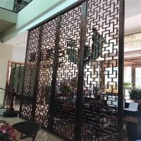 Buy cheap Restaurant wall divider metal screen stainless steel room divider screen product