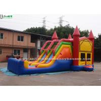 Quality 4 In 1 Amusement Park Inflatable Bounce Houses Rentals EN14960 Approvals for sale