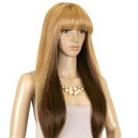 Buy cheap Darker Blonde Synthetic Hair Wigs Silky Straight 8inch - 36inch product