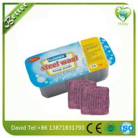 Buy cheap steel wool soap filled scrubber factory price product