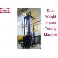 Buy cheap High Efficiency Drop Weight Impact Test Apparatus For Line Pipe Four Columns Supported product