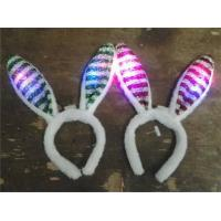 Bunny ears headband bowknot tail easter halloween hair accessories of