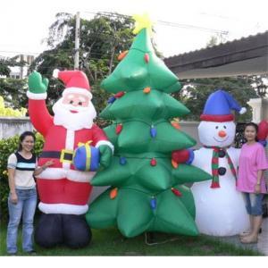 China Árvores de Natal, Papai Noel e desenhos animados do boneco de neve (CHR-1070) wholesale