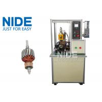 Buy cheap High frequency DC motor commutator hot-melt welding machine , Commutator O.D 5~60mm product