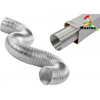 Buy cheap Silvery Flexible Air Conditioner Flexible Duct Stretchable For Air Conditioner Installation product