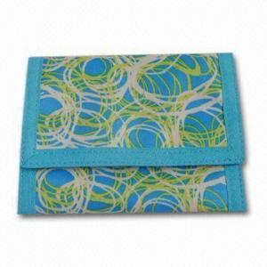 Buy cheap 420D carteira impressa, medidas 13 x 27cm product