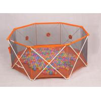 Buy cheap Babies Products Fold Down Lightweight Portable Play Yard For Babies , Orange product