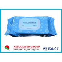 Buy cheap Premium Spunlace Adult Wet Wipes , Disposable Adult Wash Cloth Extra Large Size product