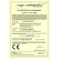 DongGuan LongChen Architectural Hardware Co., Ltd. Certifications