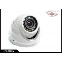 Buy cheap White Bus Rear View Camera With Rotatable Lens , Vehicle Security Camera System  product