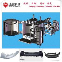 Buy cheap Pvd Chrome Vacuum Metallizer Machine Thermoforming For Plastic Car Front Rear Bumper product