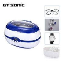 Buy cheap 5 Timer Cycles Small Ultrasonic Cleaner Machine Digital GT SONIC 40kHz 600ml product