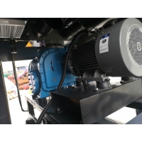 Buy cheap 45KW 0.6bar high reliability oil free screw blowers for sewage treatment product