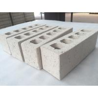 China Customized White Clay Hollow Blocks For Wall Building Construction 230 X 76 x 70 mm on sale