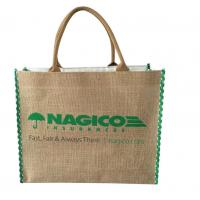 Buy cheap Eco Friendly Jute Tote Bags For Grocery Shopping OEM ODM Acceptable product