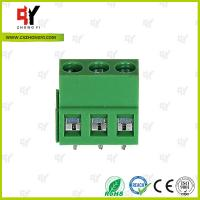 Buy cheap Electrical terminal block Wire Range 26- 14 AWG -40℃ ~ +105℃ Temprature product