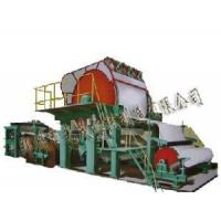 Buy cheap 1575mm Single-Cylinder and Single-Wire Paper Machine product