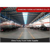 Buy cheap Double / Three Axle LPG Tank Trailer ASME ADR GPL Tank / GLP Tanker 56000 Liters product