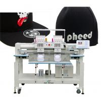 Buy cheap twin heads cap computerized embroidery machine product