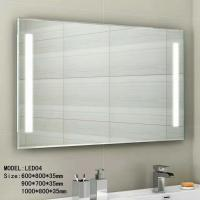 China Audio Smart wall mounted lighted makeup mirror waterproof 3.5mm 5mm thickness on sale