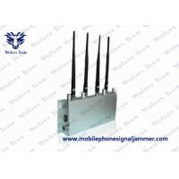 Buy cheap GSM CDMA DCS 3G Cell Phone Signal Jammer Desktop Type FCC Certification product