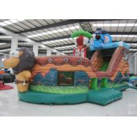 Buy cheap Elephant Inflatable Pirate Ship Bouncer Animals Pirate Boat Silk Printing hot sale inflatable animals pirate boat product