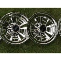 Buy cheap 8Inch Golf Cart Wheel Covers , Chrome SS Wheel Covers Universal Fit Set of 4 from wholesalers