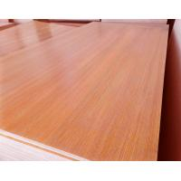 Buy cheap Standard Size Veneered MDF Panels / Construction Flooring MDF Wood Panelling product