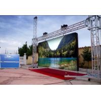 Buy cheap Flexible Outdoor LED Screen Rental / LED Panel Video Screen Low Consumption product