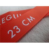 Buy cheap Washable Screen Printing Tagless Labels  , Printed Labels For Clothing product